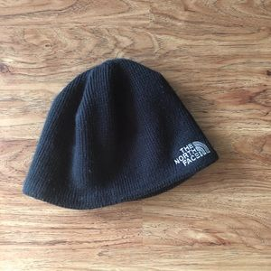 Men's North Face black beanie